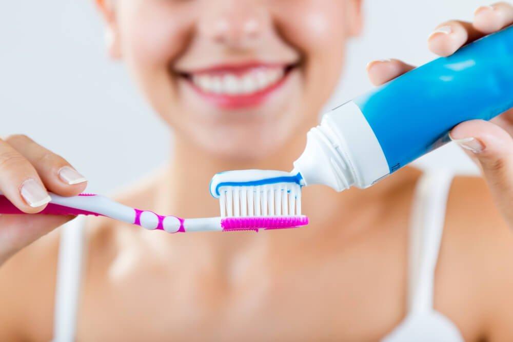 escoger pasta de dientes