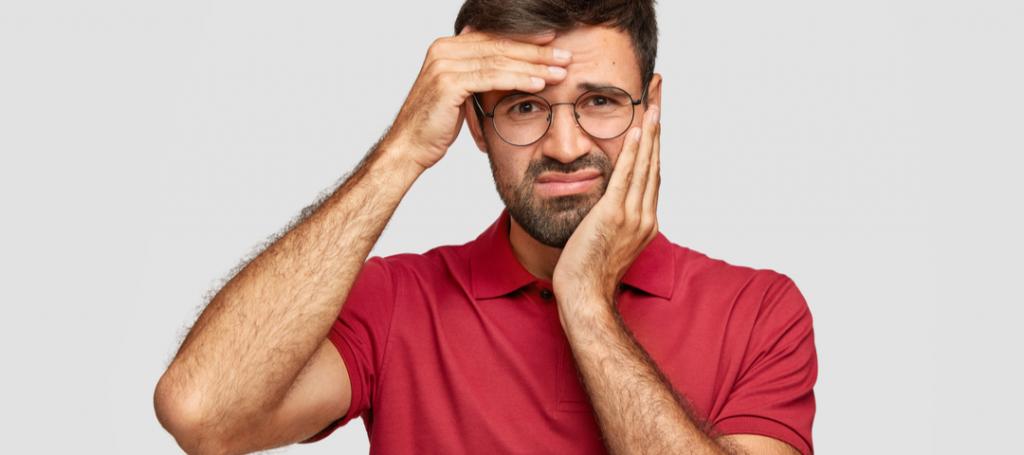 dolor de cabeza y problemas bucales